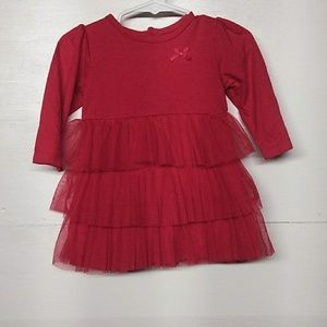 Child of mine dress Christmas color